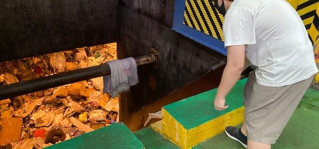 ゴミ処理場体験 ✰  おざさ